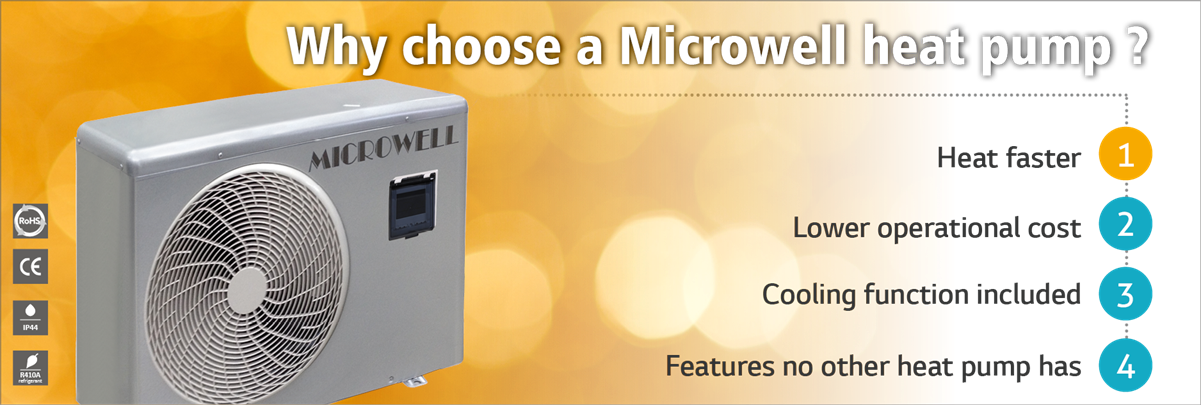 How choose a heat pump? - Microwell